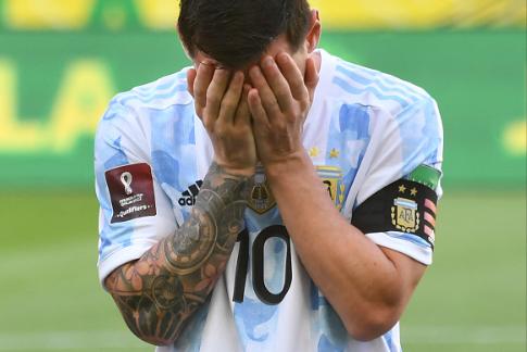 Canceled, World Cup qualification Brazil vs Argentina